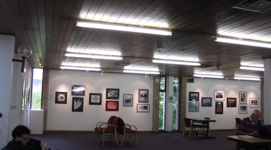 Oriel Wrecsam, Ice Dance Exhibition of Rona Campbell's Photography