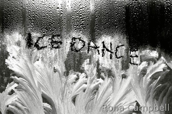 Ice Dance - Elevation Finished - Fine Art Photography by Rona Campbell